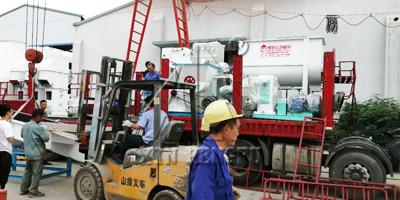 西藏350草粉颗粒机组发货实时直播
